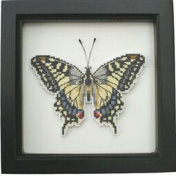 Swallowtail Butterfly Faux Taxidermy Cross Stitch Kit