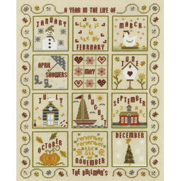 A Year In The Life Cross Stitch Kit