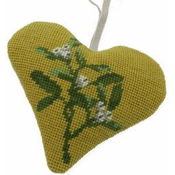Mistletoe Heart Tapestry Kit