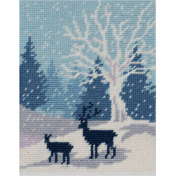 Woodland Snowfall Tapestry Kit