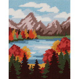 Autumn Mountains Tapestry Kit