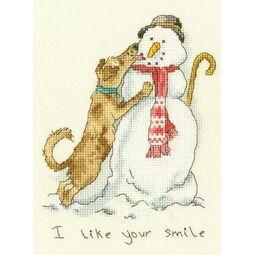 I Like Your Smile Cross Stitch Kit