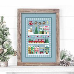 Christmas Town Cross Stitch Kit