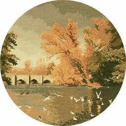 Autumn Reflections Cross Stitch Kit