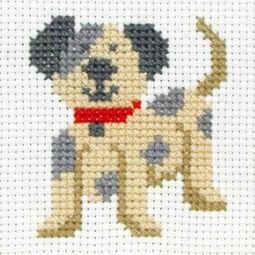Toby Cross Stitch Kit