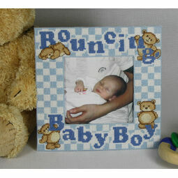 Bouncing Baby Boy Stitch A Frame Cross Stitch Kit