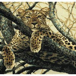 The Leopard Cross Stitch Kit