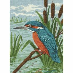 Kingfisher Tapestry Kit