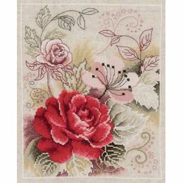 Rose Fantasy Cross Stitch Kit
