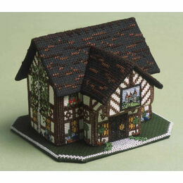 The Castle Inn 3D Cross Stitch Kit