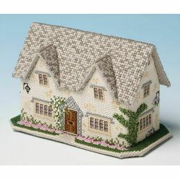 Windrush Cottage 3D Cross Stitch Kit