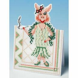 Hello Boys Card 3D Cross Stitch Kit