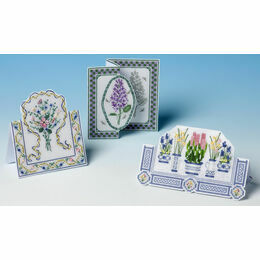 Floral Cards 3D Cross Stitch Selection Pack (3 Cards)