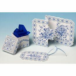 Toile de Jouy 3D Cross Stitch Gift Set Trio