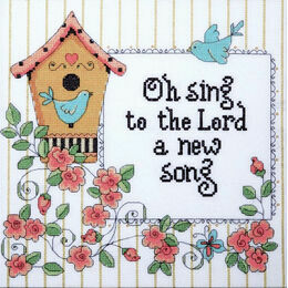 A New Song Cross Stitch Kit