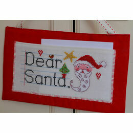 Dear Santa Letter Hanging Cross Stitch Kit