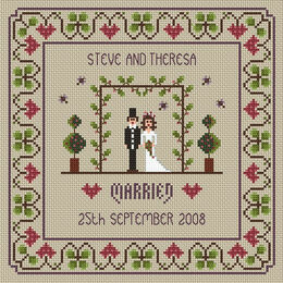 The Wedding Cross Stitch Kit