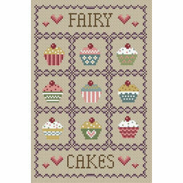 Fairy Cakes Cross Stitch Kit