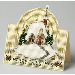 Winter Afternoon 3D Cross Stitch Card Kit