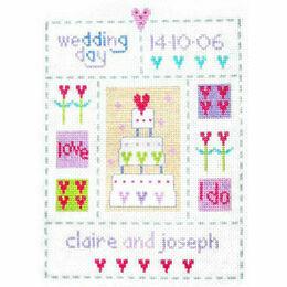 Wedding Sampler Cross Stitch Kit
