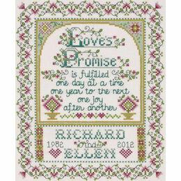 Love's Promise Cross Stitch Kit