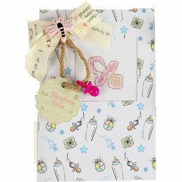 Girl Dummy Cross Stitch Card Kit