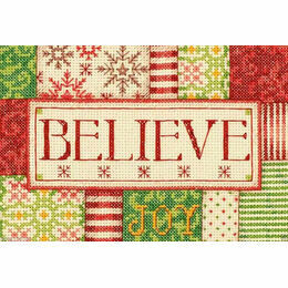Believe Cross Stitch Kit