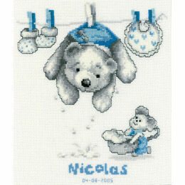 Baby Laundry Cross Stitch Kit
