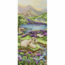 Highlands Landscape Cross Stitch Kit
