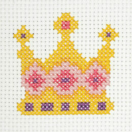 Crown Cross Stitch Kit
