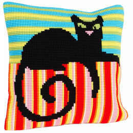 Mr Handsome Cross Stitch Cushion Panel Kit