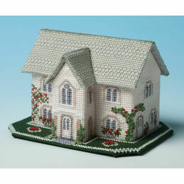 Dower House 3D Cross Stitch Kit