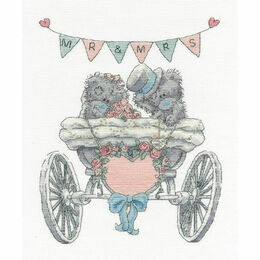 Tatty Teddy Mr & Mrs Cross Stitch Kit