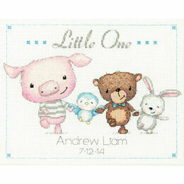 Little One Birth Record Cross Stitch Kit