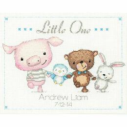 Little One Birth Record Cross Stitch Kit