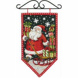 Winter Banner Cross Stitch Kit