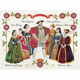 Henry VIII Cross Stitch Kit