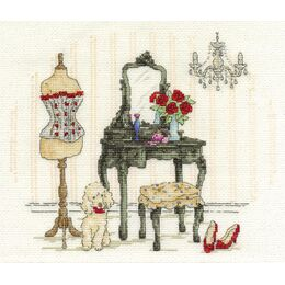 Le Boudoir Cross Stitch Kit