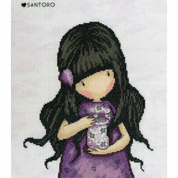 Gorjuss We Can All Shine Cross Stitch Kit