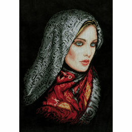 Woman In Veil Cross Stitch Kit