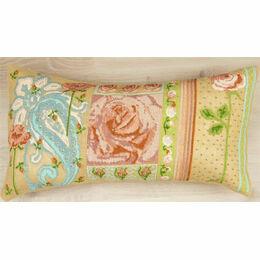 Unique Peach Premium Half Cross Stitch Cushion Kit