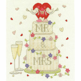 Wedding Congratulations Cross Stitch Kit