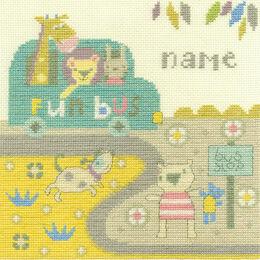 Baby Bus Stop Cross Stitch Kit