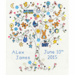 Love Baby Boy Cross Stitch Kit