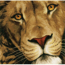 King Of Animals Cross Stitch Kit