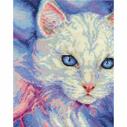 Turkish Angora Cross Stitch Kit
