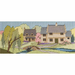 Beckside Lane Long Stitch Kit