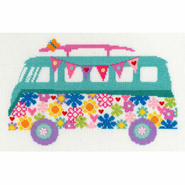 Van Bouquet Cross Stitch Kit