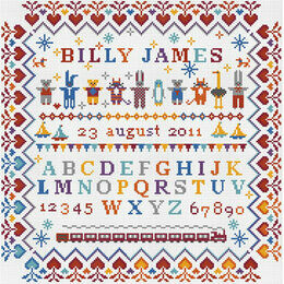 Baby Boy - Little Boy Cross Stitch Kit