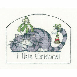 I Hate Christmas Cross Stitch Kit
